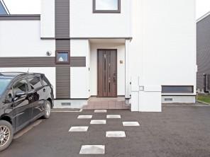 家とお揃いのパーテーション 札幌市北区G様邸2