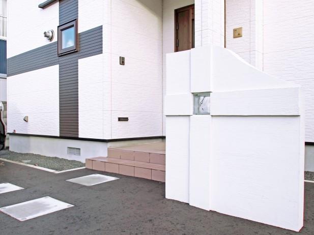 家とお揃いのパーテーション 札幌市北区G様邸1