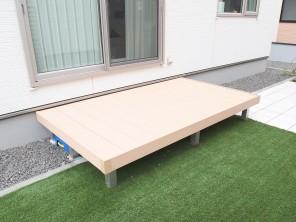 LIXIL サニーブリーズフェンスと人工芝のお庭 札幌市白石区H様邸5